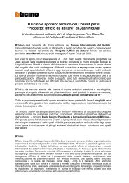 Comunicato stampa, 7 marzo 2013 - Professionisti BTicino