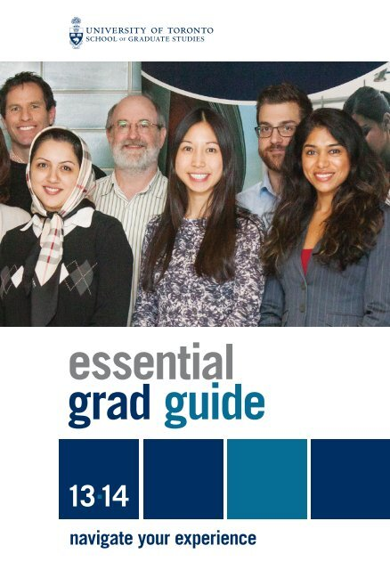 Essential Grad Guide (PDF) - School of Graduate Studies