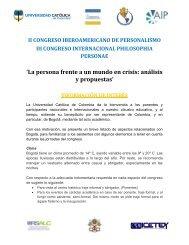 Congreso AIP - Universidad Catolica de Colombia