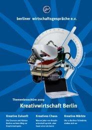 Kreativwirtschaft Berlin - Berliner Wirtschaftsgespräche eV