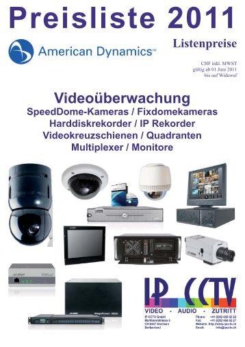 Listenpreise - IP CCTV GmbH
