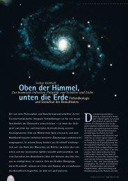Oben der Himmel, unten die Erde - Hagia Chora Journal