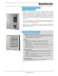 DC Air Conditioner 450 EN - Dantherm