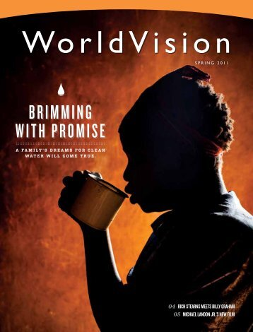 Spring 2011: Brimming with Promise - World Vision