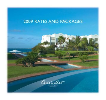 2009 Rates and packages - CuisinArt Resort & Spa