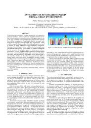extraction of 3d navigation space in virtual urban ... - Eurasip