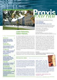 Praxis Journal - Schwerpunktpraxis für Hämatologie und Onkologie