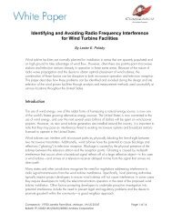 Identifying and Avoiding Radio Frequency Interference for Wind - AVW