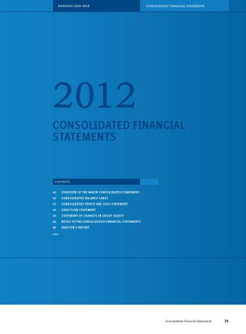 consolidated financial statements - Boehringer Ingelheim Annual ...