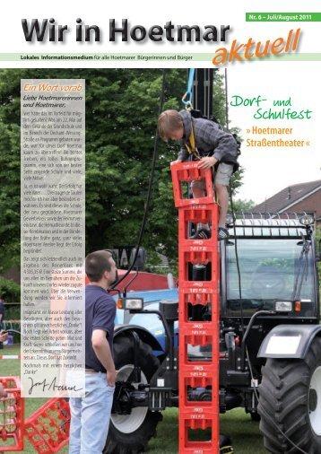 Ausgabe 06, Juli 2011 - Hoetmar