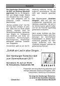 Gemeindebrief für Juni bis August 2011 - St. Petrus – Hamburg ... - Page 5