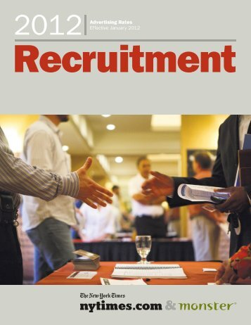 Recruitment - New York Times – inEducation – Subscriptions