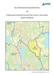 FÖP SYDOST - Upplands Väsby kommun