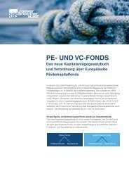 Private-Equity- und Venture-Capital-Fonds - RBS-Partner