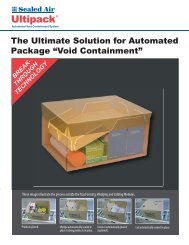 Brochure - Protective Packaging from Sealed Air