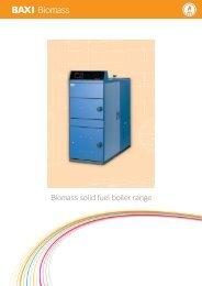 Baxi Biomass boilers - Ecobuild
