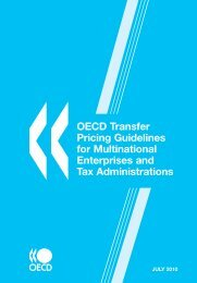 OECD Transfer Pricing Guidelines for Multinational Enterprises and ...