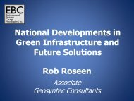 National Developments in Green Infrastructure and Future Solutions ...