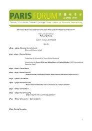 Paris Forum AGENDA 27 MARCH ENG Daianax