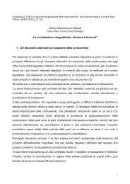 1 Chiara Giovannucci Orlandi Alma Mater Università di Bologna La ...