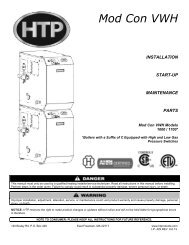 Download Installation Manual (.pdf) - Heat Transfer Products, Inc