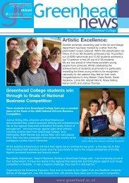 09 Winter 2008 - Greenhead College