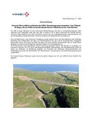 Pressemitteilung vom 09. 07. 2009 (PDF-Format, 5165 Kb) - Vinci