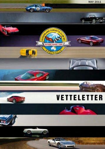 Vetteletter May 2011.pdf - qld corvette club inc