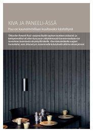 Paneeli-Ässä ja Kiva esite - Tikkurila