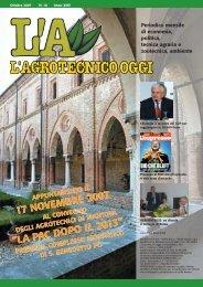 L'Agrotecnico Oggi ottobre 07 - Collegio Nazionale degli Agrotecnici