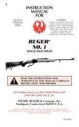 Ruger® No. 1