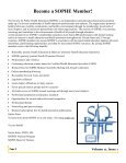 2012 Winter Newsletter - sophe - Society for Public Health Education - Page 2