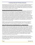 2012 Winter Newsletter - sophe - Society for Public Health Education - Page 4