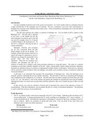 Acid-Base Chemistry Page 1 of 5 Acids, Bases and ... - Virginia Tech