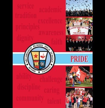 Archbishop Rummel High School educates each student