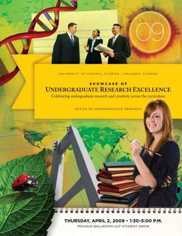 UNDERGRADUATE RESEARCH EXCELLENCE - Showcase of ...