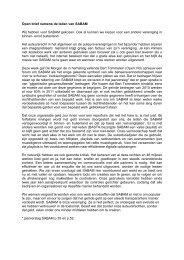 Open brief namens de leden van SABAM Wij hebben voor SABAM ...