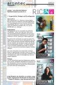 Ausarbeitung zur artintec Intra-/Extranet Referenz R.I.C. GmbH - Seite 2
