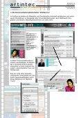 Ausarbeitung zur artintec Intra-/Extranet Referenz R.I.C. GmbH - Seite 5