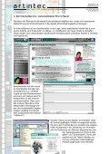 Ausarbeitung zur artintec Intra-/Extranet Referenz R.I.C. GmbH - Seite 6