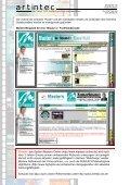 Ausarbeitung zur artintec Intra-/Extranet Referenz R.I.C. GmbH - Seite 7