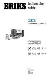 stuk RX-trillingdempermatten - Eriks