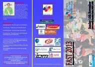 Program - Sports Medicine Australia