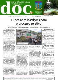 Diário Oficial Nº 3052 - Prefeitura de Contagem