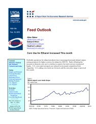 Feed Outlook Yearbook - Cornell University