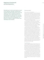 Regulatory Framework - Annual Report 2011 - Liechtensteinische ...