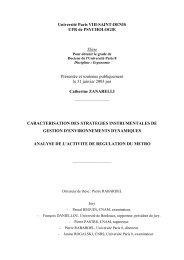 Université Paris VIII-SAINT-DENIS UFR de ... - E-Corpus