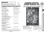 Evangelisch-Lutherisches Kirchspiel Radeberger Land
