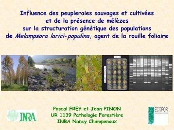 Aucun titre de diapositive - GIP-Ecofor