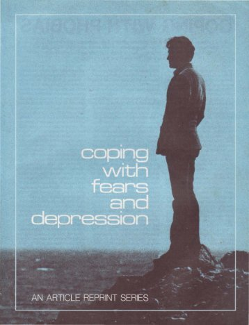 Coping with Fears and Depression - Church of God - NEO